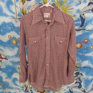 Vintage 60s/70s WRANGLER pearl snap western shirt